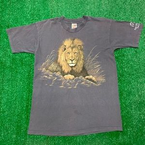 Vintage Roger Williams Zoo Rhode Island Lion Shirt